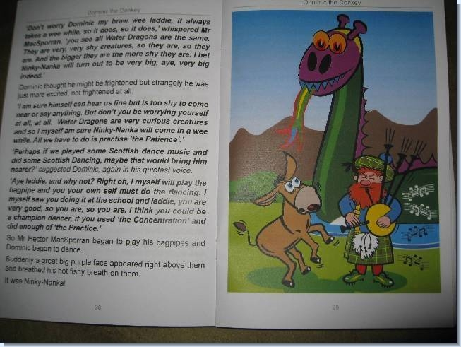 Dominic the Donkey Book